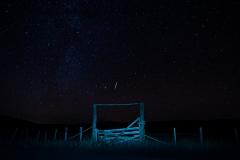 Meteor Over Heavans Gate by Daryl Wilson