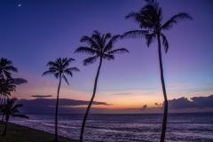 Hawaiian Sunset by Irene Mcneill