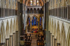 Salisbury Cathedral by Tom Truss