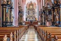 Mondsee Abbey by Mel Baly