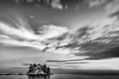 Clouds Over Whyte Islet by  Craig Roberts