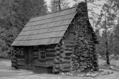 Anderson Pioneer Cabin At Yosemite by  Glenn Disney