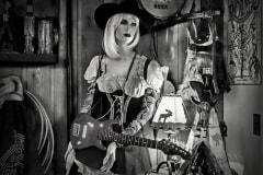 Cowgirl by  Daryl Wilson