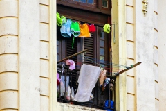 Laundry Day At El Palacio by Arnold Richardson