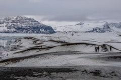 A Winter Walk by  Denise Roussel
