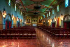 Santa Clara Mission, California by  Arnold Richardson