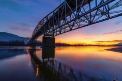 Agassiz Rosedale Bridge by Liz Lynch