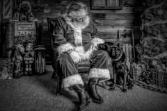 A Visit With Santa by Carla Hamilton