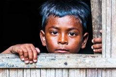Malaysia Aboriginal Boy by Wu Shan Chiang