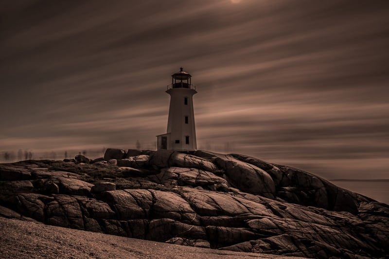 Ghosts Of Peggys Cove by  Richard Knotts