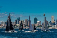 Race Day In Sydney Harbour by  Tom Truss