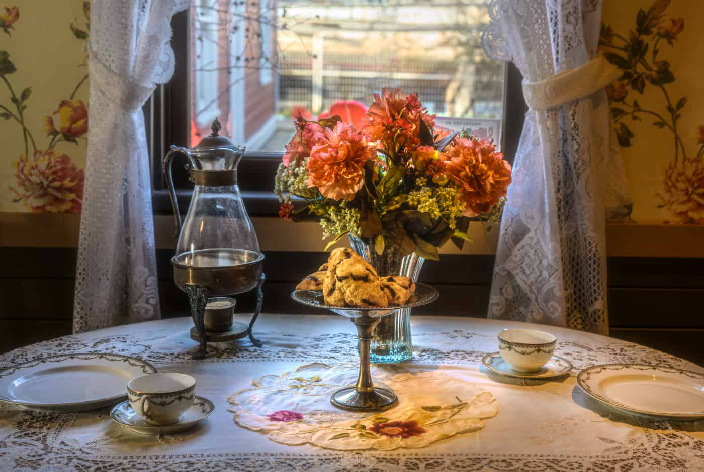 Table For Two by Marlene Reimer