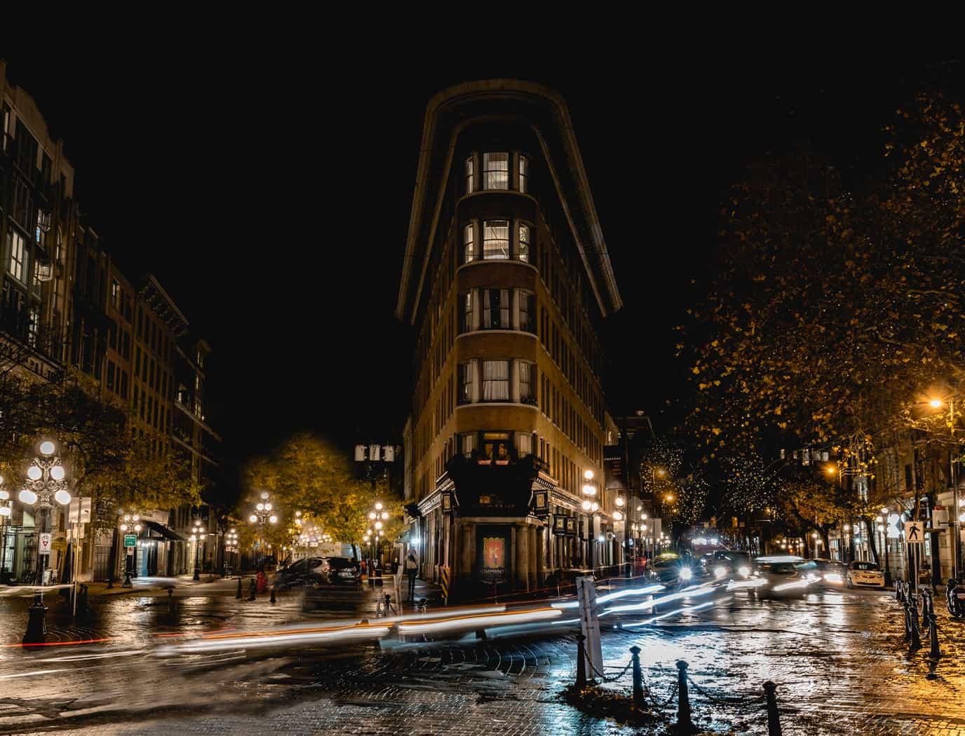 Wet Slippery Streets by Arlette Hatcher