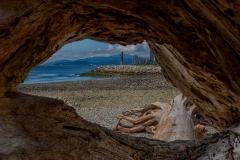 Ambleside Beach Lookout by Ed Mallett
