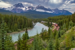Eastbound At Morants Curve by Ed Patterson