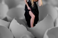 Walking On Egg Shells by Lorna Scott