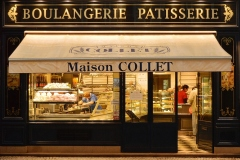Late Night Pastry Shopping by Denise Decloux