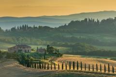 Early Morning In Tuscany by Kayla Stevenson