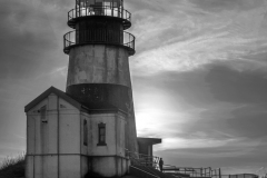 Cape Disappointment Lighthouse by Michael Sinclair