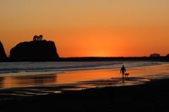 Oregon Coast Sunset by Kathy Burton