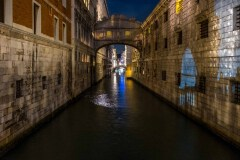All Quiet At The Bridge of Sighs by  Rick Regamble