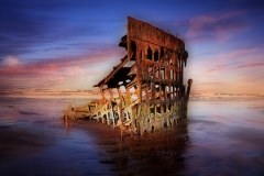 Peter Iredale by  Jim Hatch