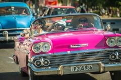 Joy Riding In Havana by  Barbara Cameron