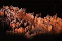 Sunrise On Bryce Canyon Pinnacles by  Kasandra Sproson