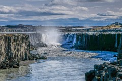 Iceland Land Of Waterfalls by  Joy Ruffeski