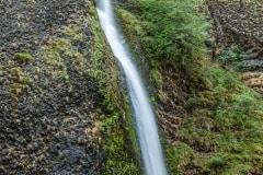 Horsetail Falls Columbia Gorge by  Glenn Disney