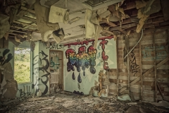 Urban Art In An Abandoned Prison by Carol Jackson