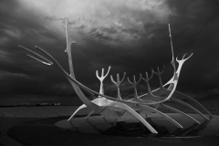 Sun Voyager Sculpture, Reykjavik by Michael Sinclair